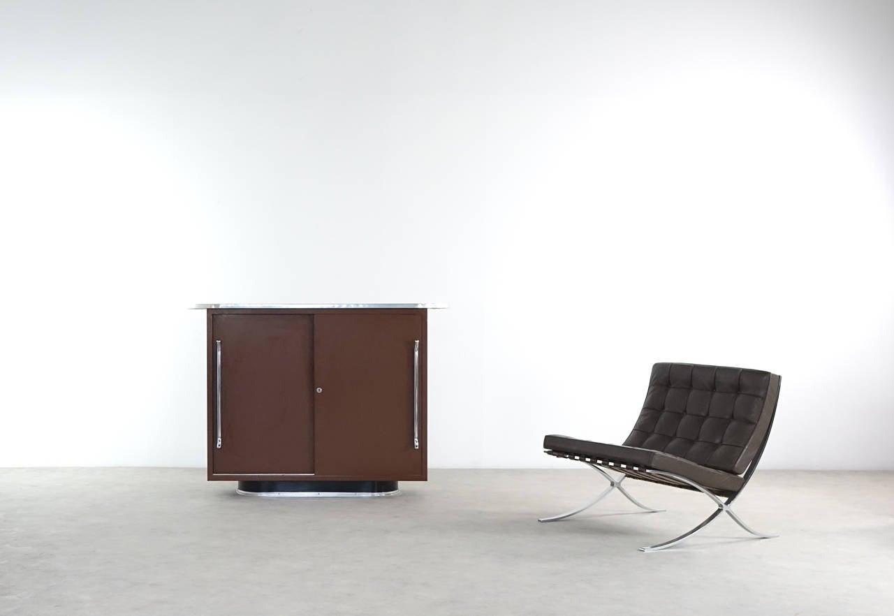 mauser werke waldeck 1951 rundform series sideboard. Black Bedroom Furniture Sets. Home Design Ideas