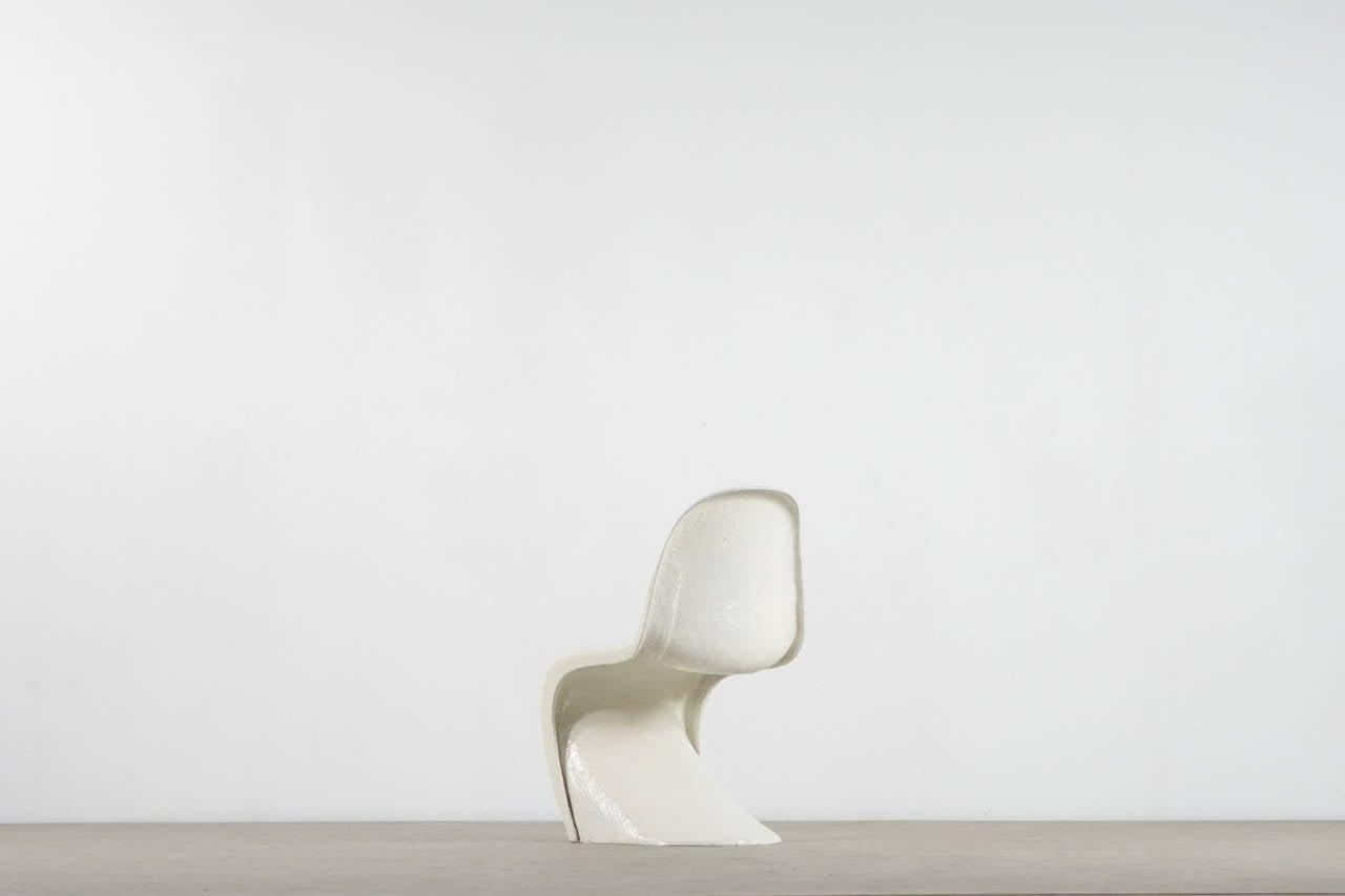 verner panton prototype panton chair pilot production of 1967 1968 at 1stdibs. Black Bedroom Furniture Sets. Home Design Ideas
