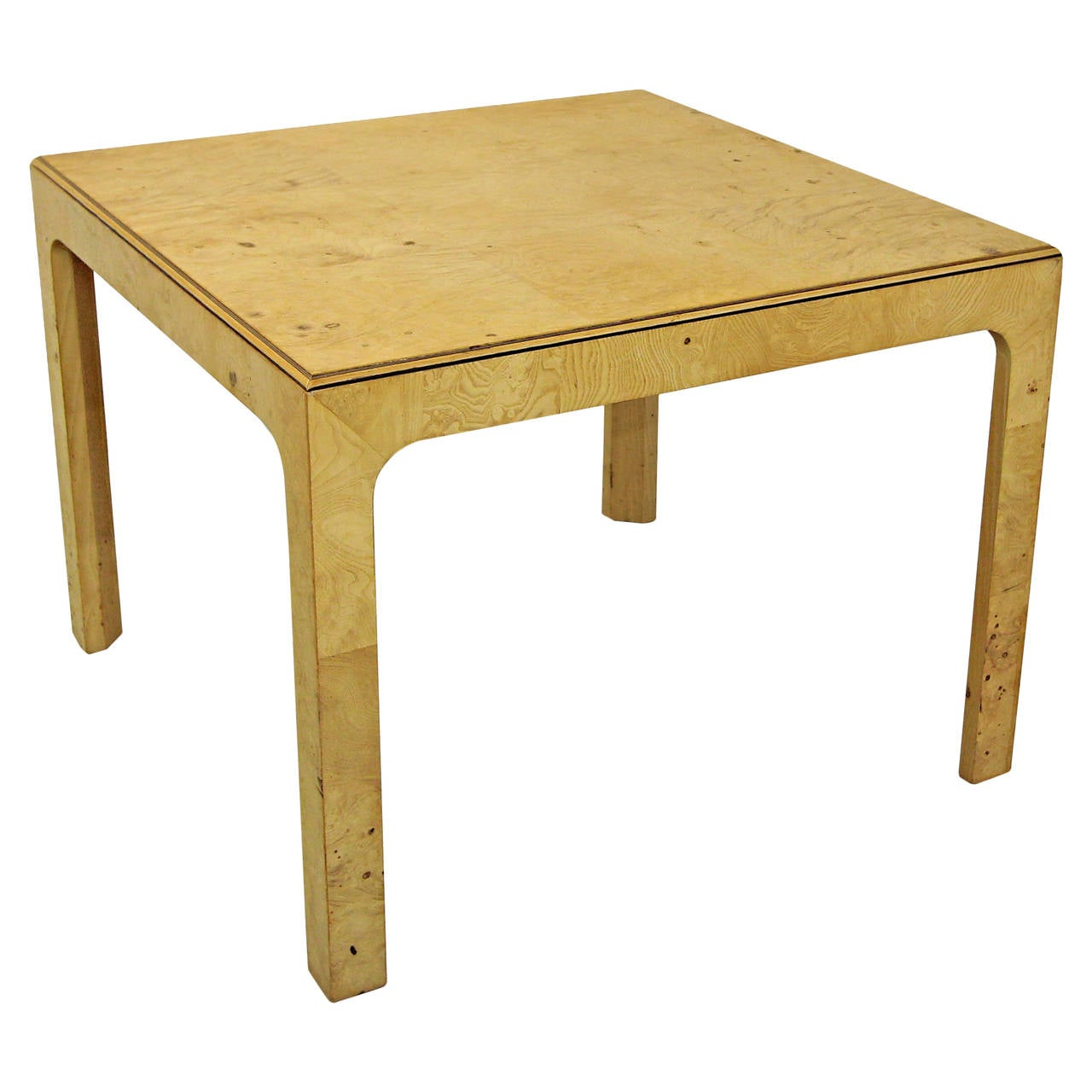 Henredon scene two parson style coffee or side table at 1stdibs Coffee table and side table