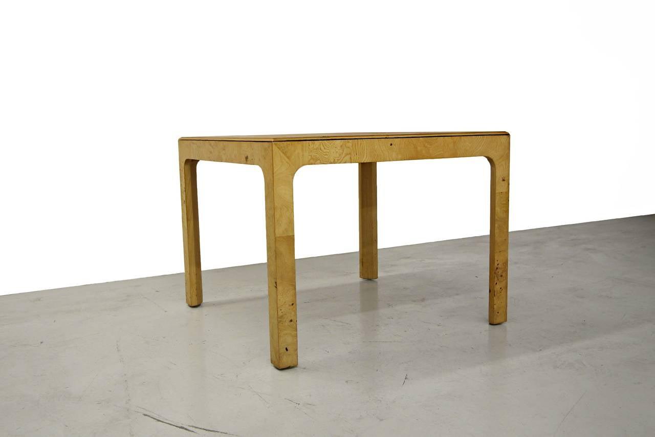 Henredon scene two parson style coffee or side table at for Side tables as coffee table