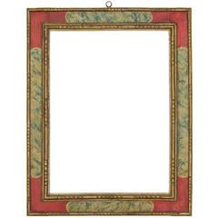 17th Century Spanish Faux Marble Cassetta Frame