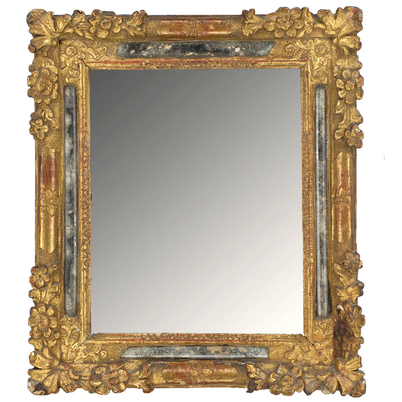 18th century french louis xiv mirror for sale at 1stdibs for Rococo style frame