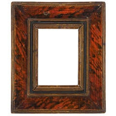 17th Century Spanish Marble Panel Frame