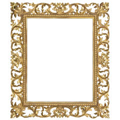 19th Century Italian Carved Frame
