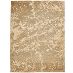 Tabriz Wooster Sky from the Erased Heritage Carpet Collection by Jan Kath