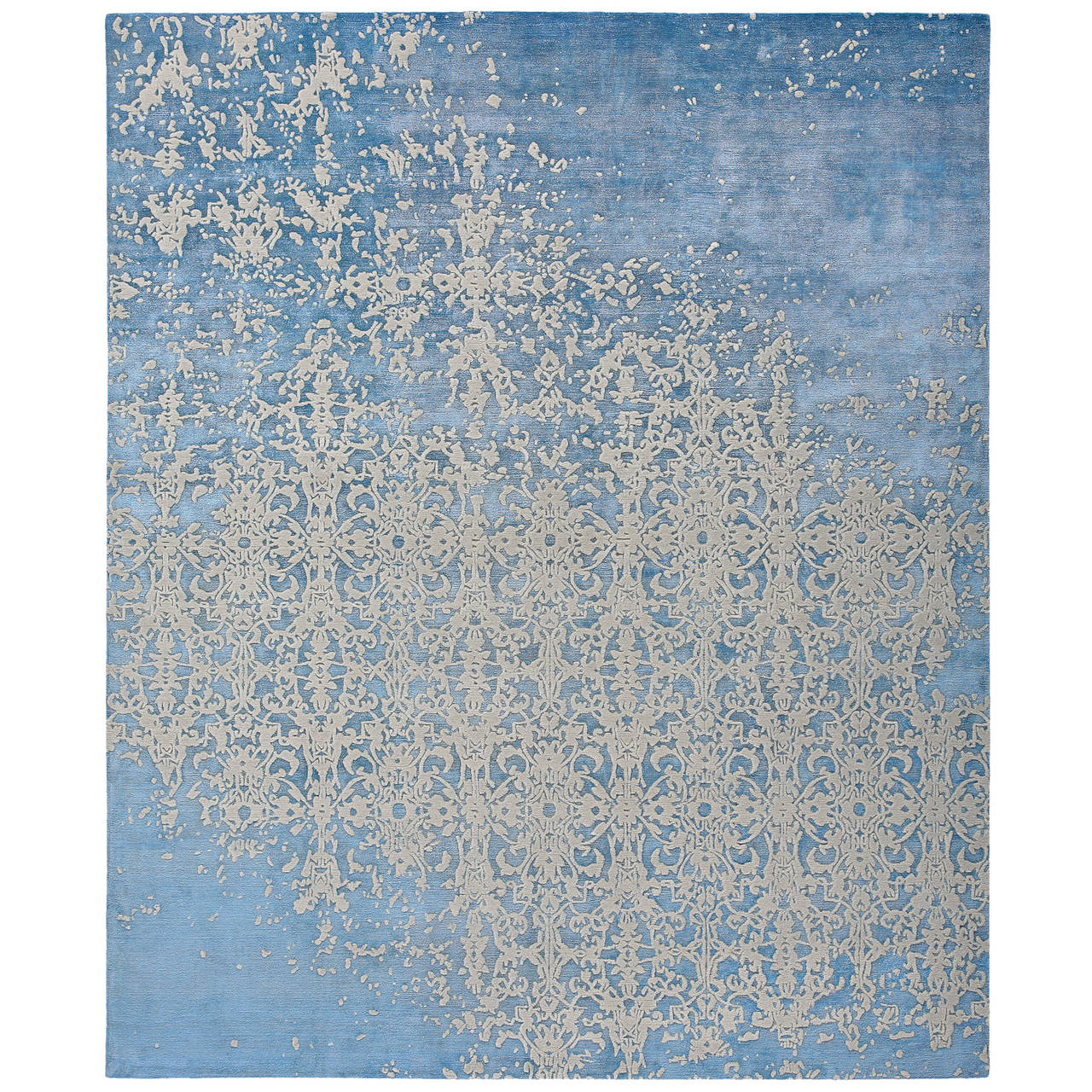 Milano Raved from the Erased Classics Carpet Collection by Jan Kath For Sale
