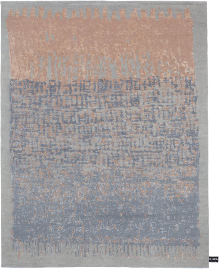 For Sale: Brown (Cipria) CC-Tapis Sasha Rug by Nelly Maye