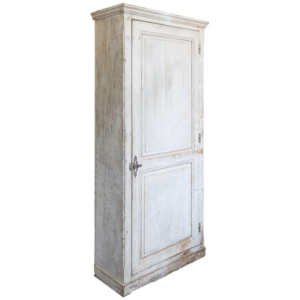 19th c bonnetiere from prieure 39 1door armoire at 1stdibs. Black Bedroom Furniture Sets. Home Design Ideas