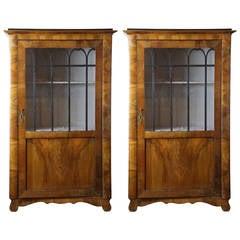 Pair of 19th Century Biedermeier Cabinets