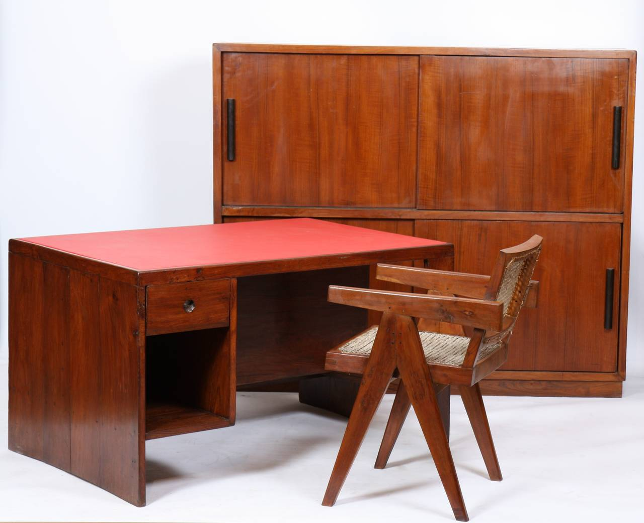 Indian Rare Furniture Storage from Pierre Jeanneret For Sale