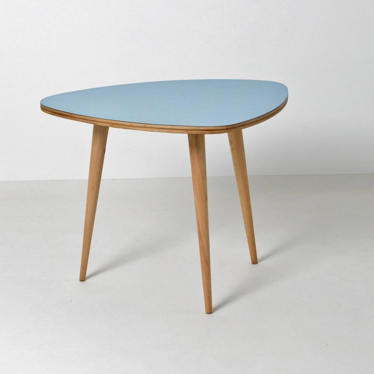 1950s Formica Side Table At 1stdibs