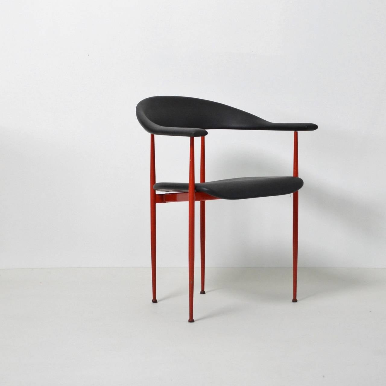 Giancarlo Vegni P70 Postmodern Chair at 1stdibs