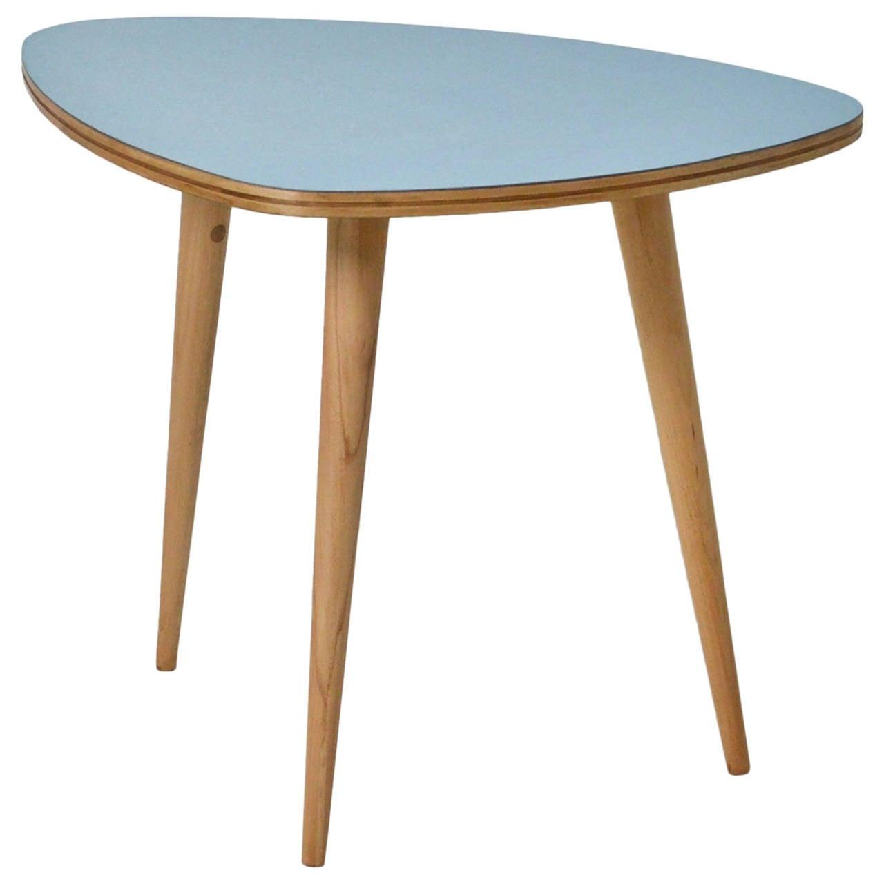 1950s formica side table at 1stdibs. Black Bedroom Furniture Sets. Home Design Ideas