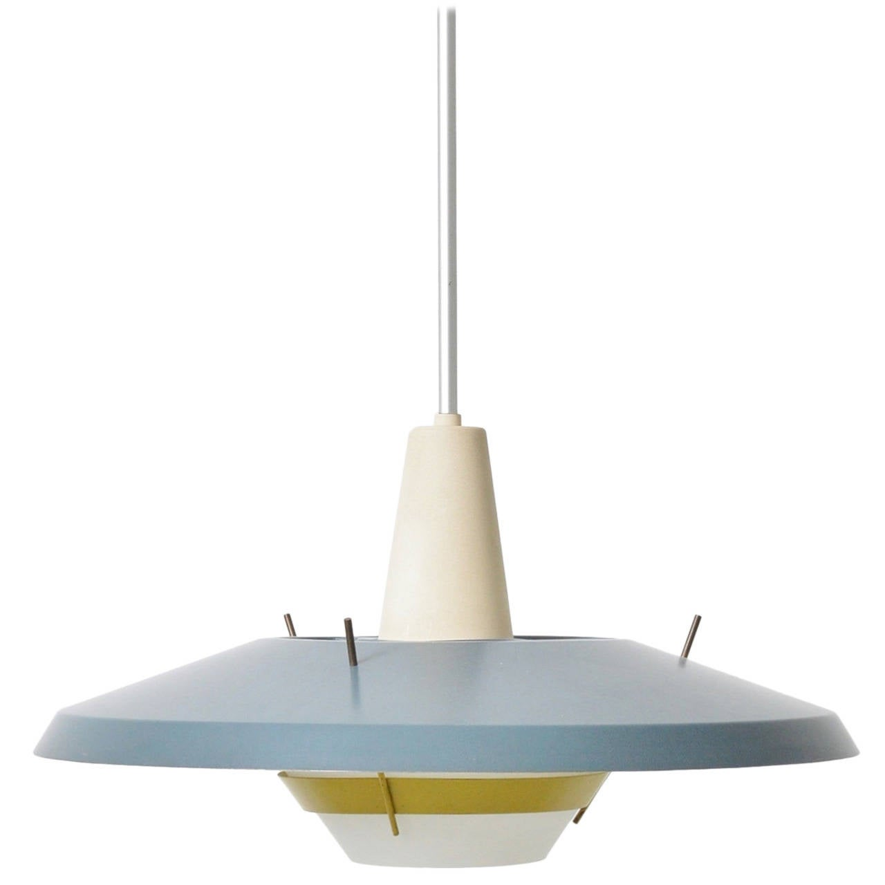 ND25 Mid Century Pendant Lamp For Philips At 1stdibs