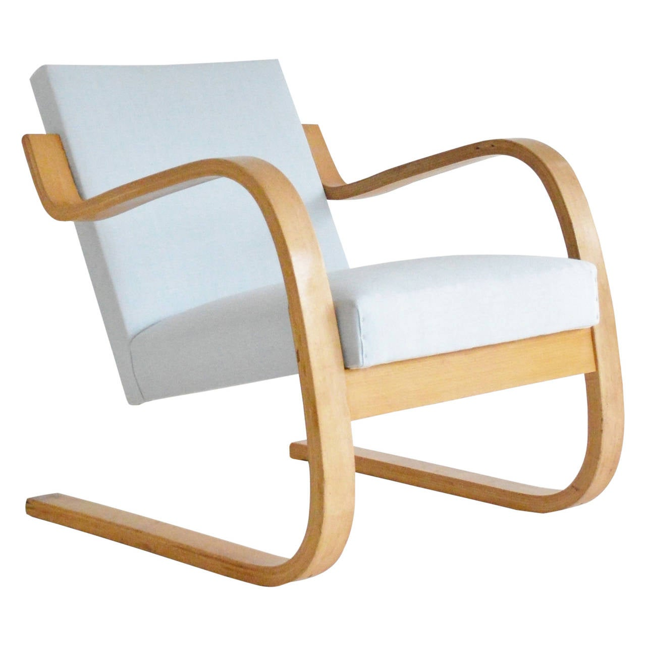 Alvar aalto model 34 402 chair early edition for finmar for Alvar aalto chaise