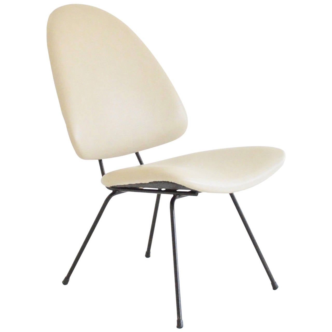 Oval lounge chair - Gispen No 60 Oval Lounge Chair 1