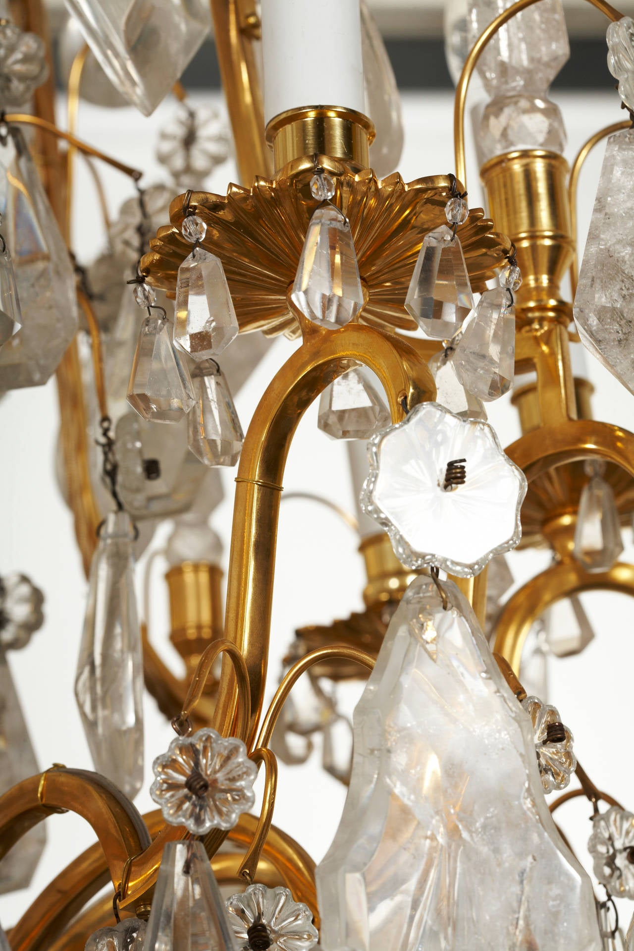 Unique french 18th century style rock crystal chandeliers for sale at 1stdibs - Unique crystal chandeliers ...