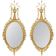 Pair of English Regency Style Mirrors, circa 1790