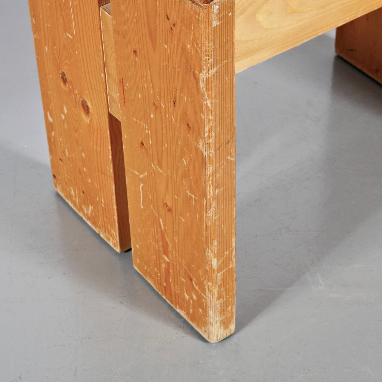 Charlotte Perriand Stool for Les Arcs 7