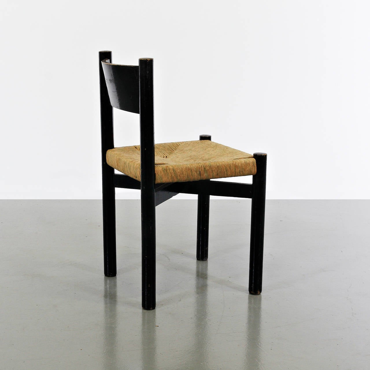 Charlotte Perriand Meribel Chair, circa 1950 3