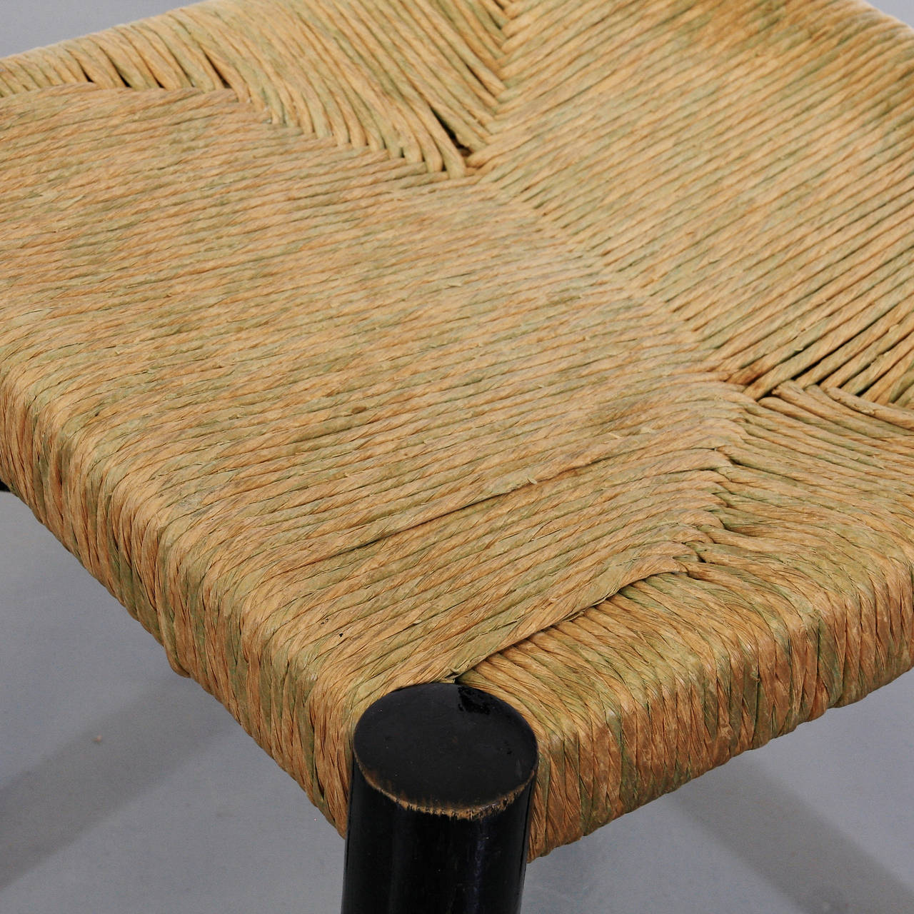Rare Charlotte Perriand Low Meribel Chair, circa 1950 7