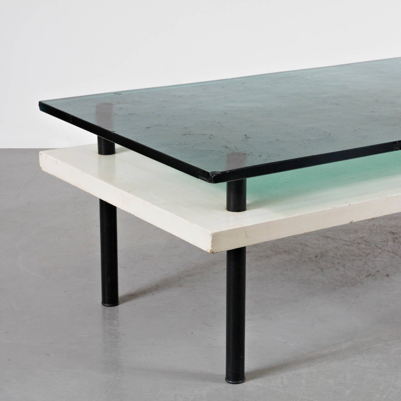 Mid-Century Modern Rare Elmar Berkovich First Edition Coffee Table for Metz & Co, circa 1930 For Sale