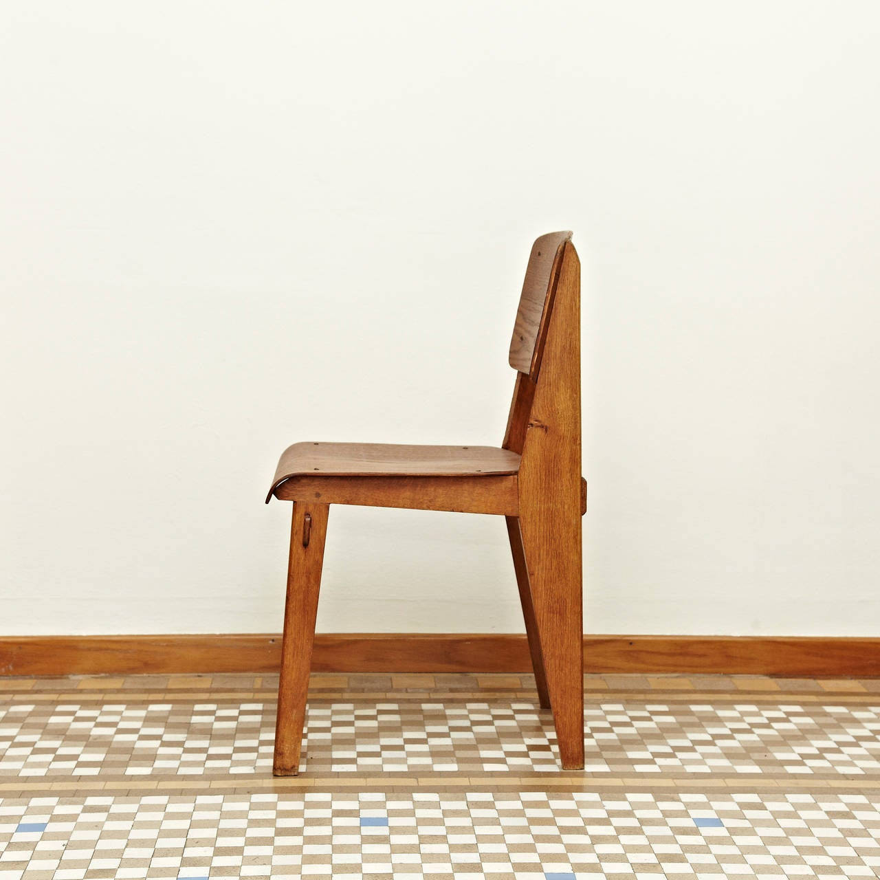 Jean prouv standard chair tout bois 1941 at 1stdibs - Jean prouve chaise standard ...