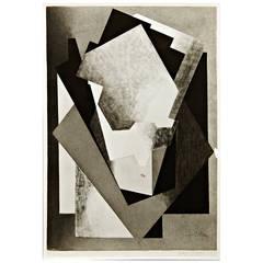 MOMA Photography of Jacques Villon Composition, circa 1950
