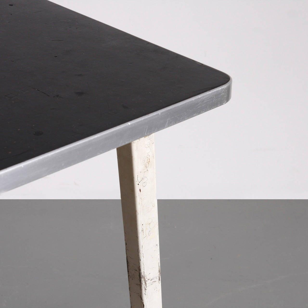 Metal Friso Kramer Reform Table, circa 1950 For Sale