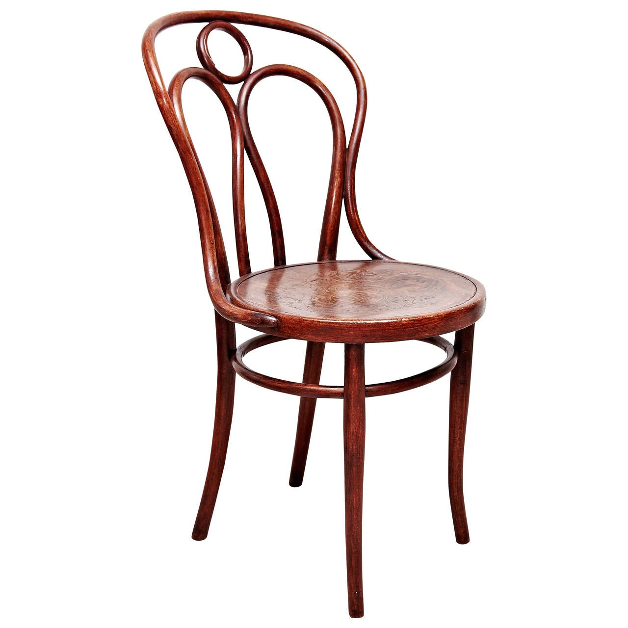 Thonet bentwood Chair nr 31 Stamped and Labeled by Thonet 1890
