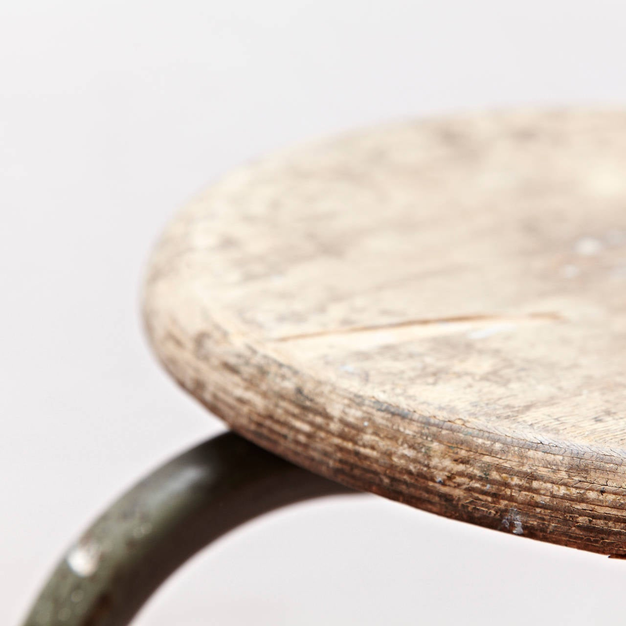 Stool Attributed To Jean Prouv 233 Circa 1950 At 1stdibs