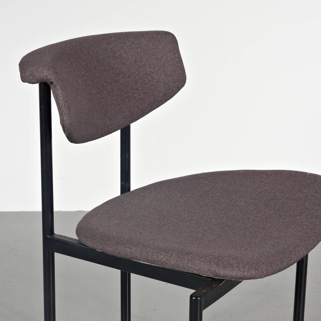 Set of 8 Rudolf Wolf Dining Chairs, circa 1960 2