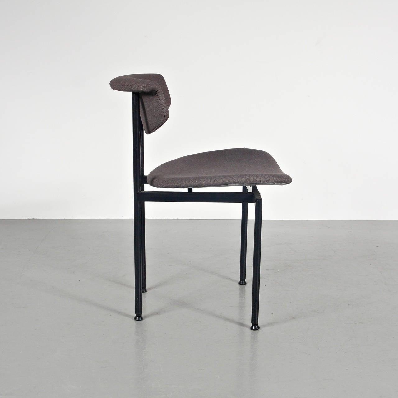 Mid-Century Modern Set of 8 Rudolf Wolf Dining Chairs, circa 1960