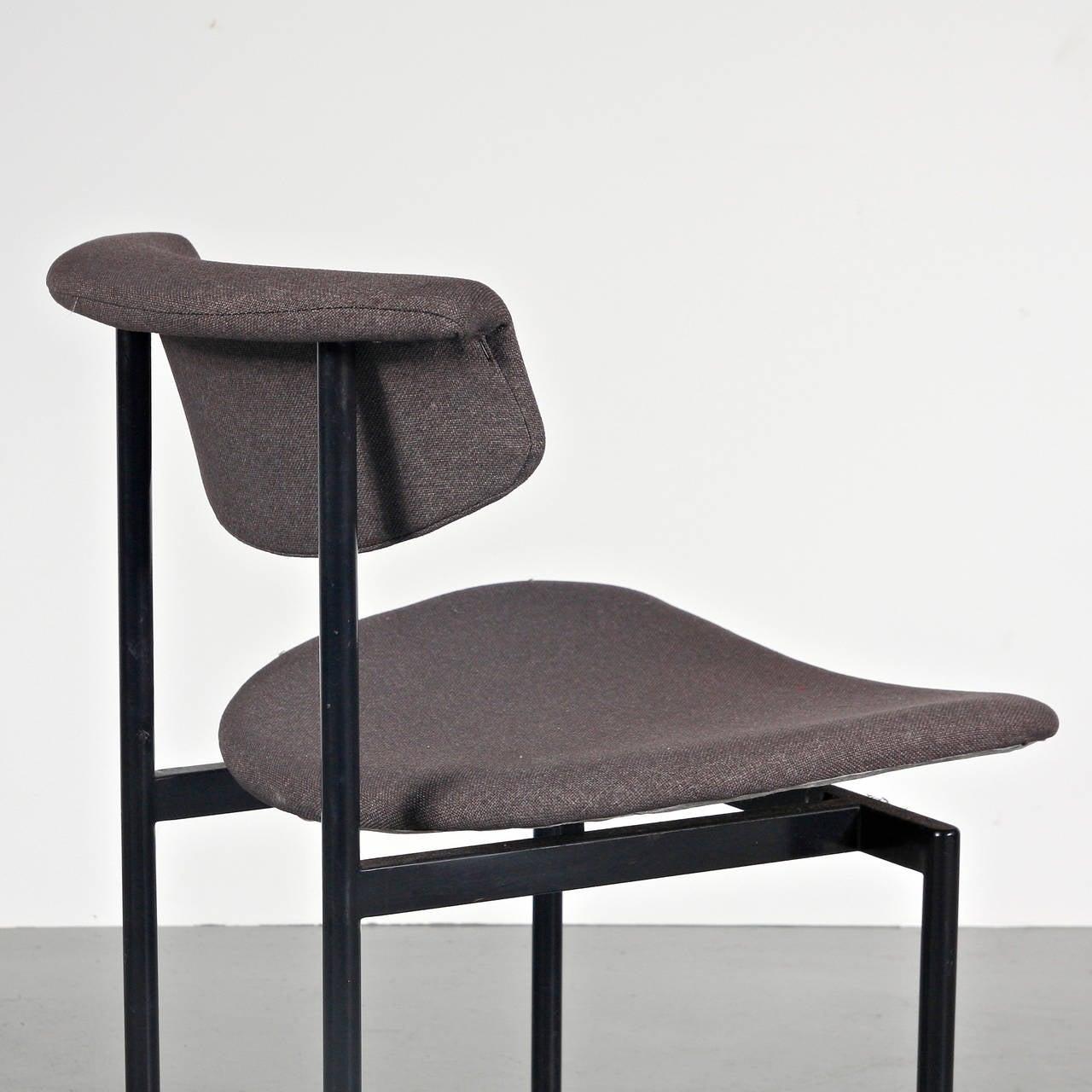 Foam Set of 8 Rudolf Wolf Dining Chairs, circa 1960