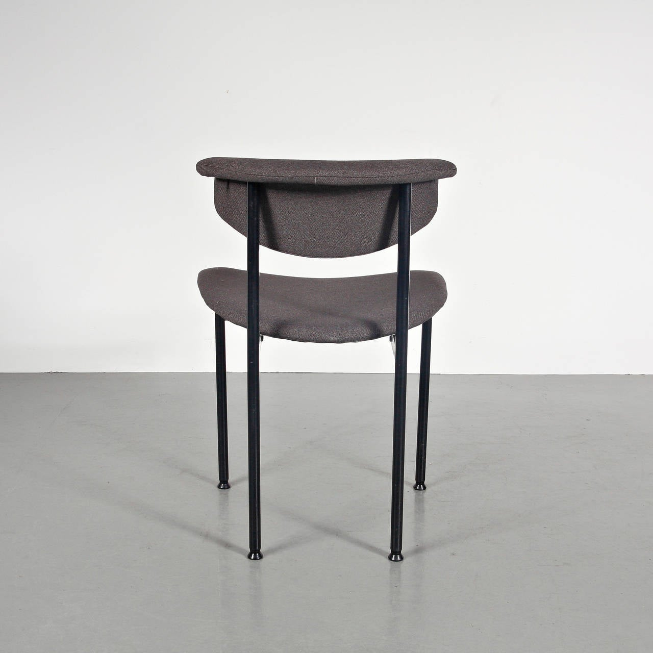 Set of 8 Rudolf Wolf Dining Chairs, circa 1960 In Excellent Condition In Barcelona, Barcelona