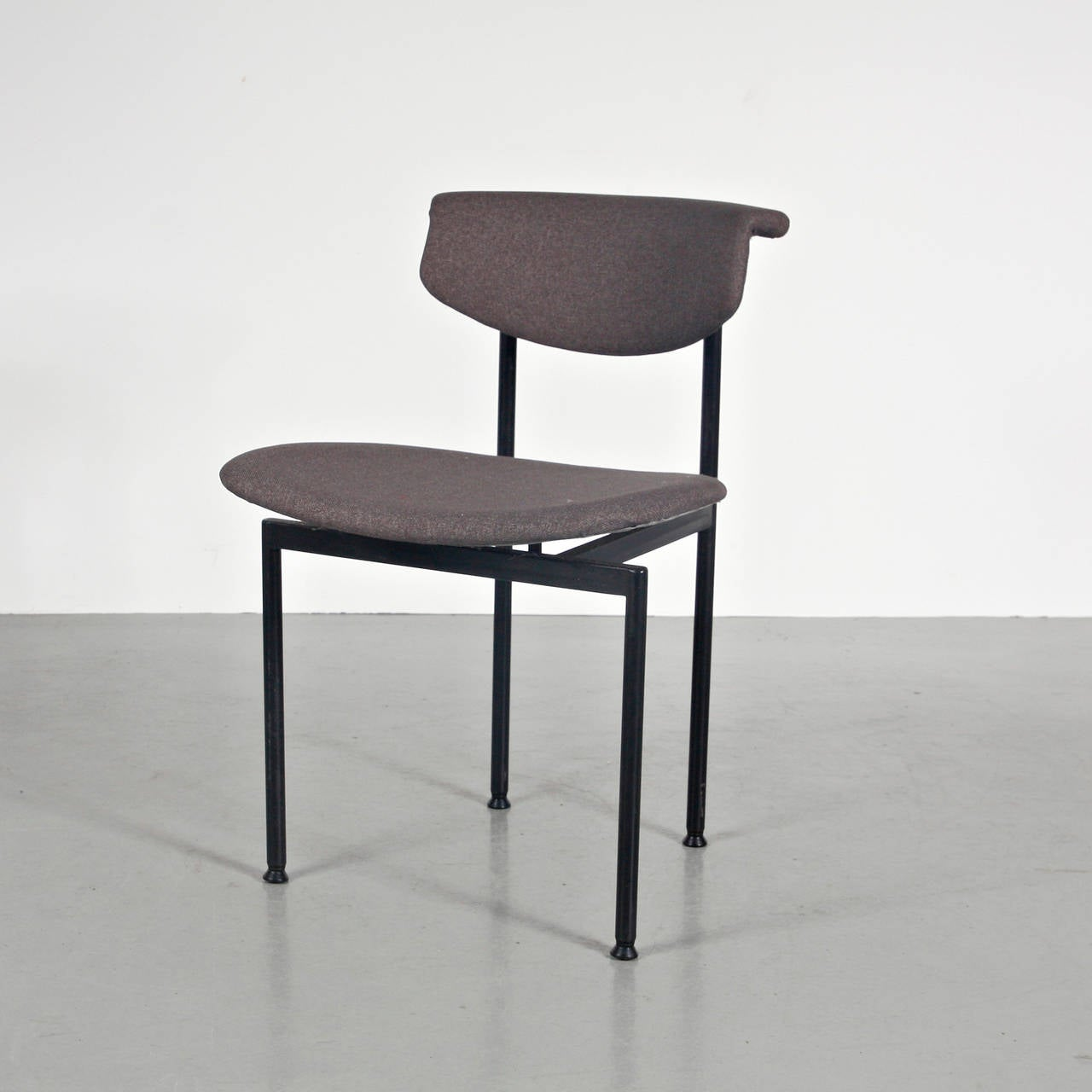 Mid-20th Century Set of 8 Rudolf Wolf Dining Chairs, circa 1960