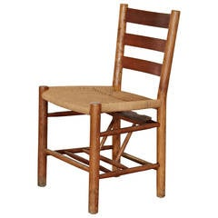 Set of 10 Kaare Klint Chairs for Grundtvig's Church, circa 1940