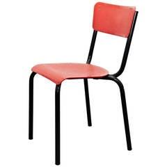 Set of 10 Pierre Guariche Chair for Meurop, circa 1950