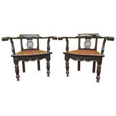 J. Leonardo Gaitan Spanish Colonial Chair Reproductions, Antigua, Guatemala