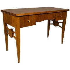 French Art Deco Desk by Jules Leleu