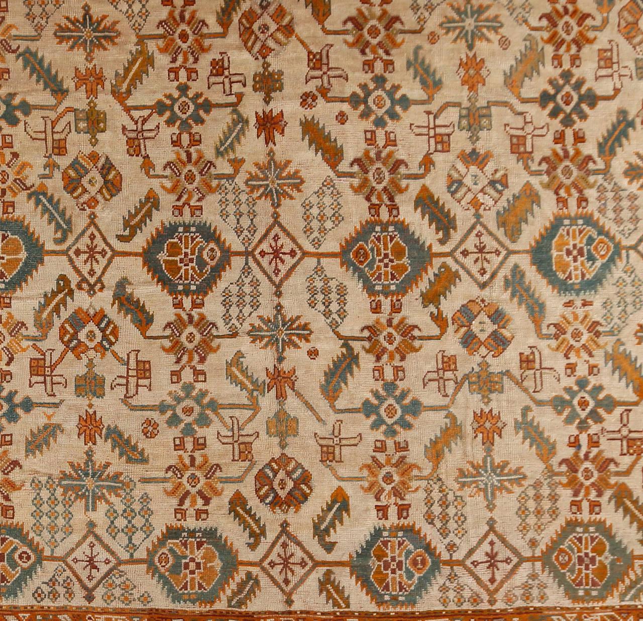Antique Oushak Rug For Sale At 1stdibs