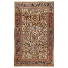 Antique Sultanabad Rug, circa 1890