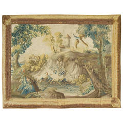 French Landscape Tapestry, Probably Beauvais, circa 1750