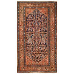 Antique Malayer Gallery-Size Rug