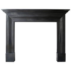 English Georgian Style Marble Fireplace Mantle