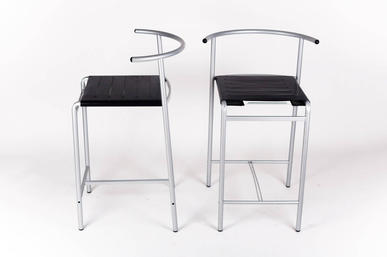 bar stools by philippe starck for cerruti baleri italian. Black Bedroom Furniture Sets. Home Design Ideas