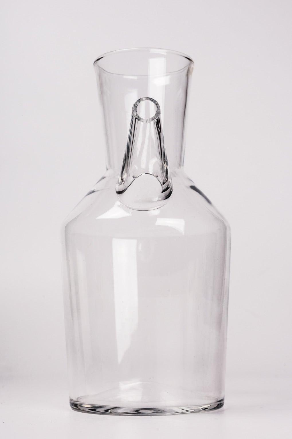 finnish glass water pitcher by erkki vesanto s for sale at  - finnish glass water pitcher by erkki vesanto s