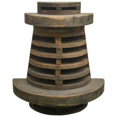 Industrial Wood Mold Console Table