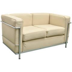 Le Corbusier Style Small Sofa