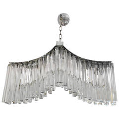 Murano Glass Rectangular Chandelier